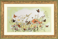 Flowers/Butterfly Kit by Marjolein Bastin