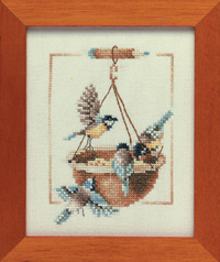 Feeding Dish with Birds Kit by Marjolein Bastin