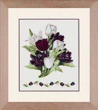 Black Tulips Kit by Marjolein Bastin
