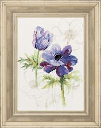Blue Flowers Anemones Kit