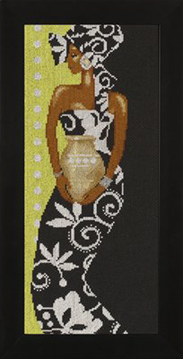 African Lady with Vase Kit