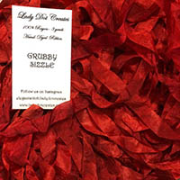 Grubby Sizzle Ribbon from Lady Dot Creates