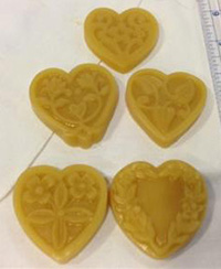 Sweethearts Waxer (4 Pack) by Lady Dot Creations