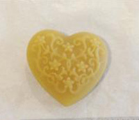 Lace Heart Waxer by Lady Dot Creations