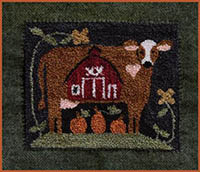 Down On The Farm Punchneedle