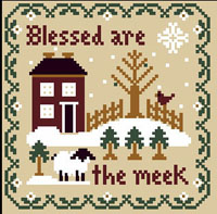 Saltbox Scriptures - Blessed are the Meek Thread Kit