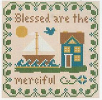 Saltbox Scriptures - Blessed Are the Merciful Thread Kit