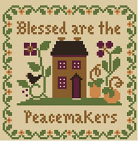 Saltbox Scriptures - Blessed Are the Peacemakers Thread Kit