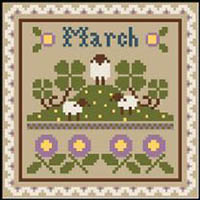 Sampler Monthly #2 - March & April Thread Kit