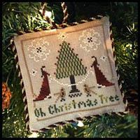 Sampler Tree Ornament #2 - Oh Christmas Tree