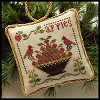 Sampler Ornament #6 - Sweet Apples