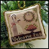 Sampler Ornament #9 - Welcome Inn