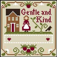 Little Women Virtues - Gentle and Kind Thread Kit
