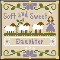 Little Women Virtues - Soft and Sweet Thread Kit