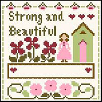 Little Women Virtues - Strong and Beautiful Thread Kit