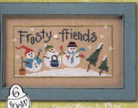 6 Snow Belles - Frosty Friends