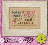 3 Little Words - Today Choose Joy