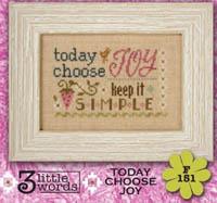 3 Little Words - Today Choose Joy