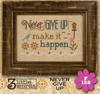 3 Little Words - Never Give Up