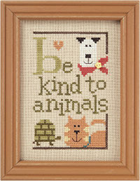 Be Kind To Animals Green Flip-It