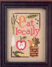 Eat Locally Green Flip-it