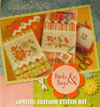 Birds & Bugz Limited Edition Stitch Kit