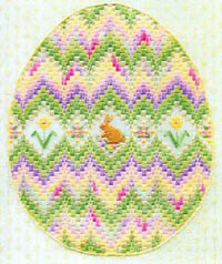 Bargello Egg