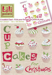 Cup Cakes For Christmas
