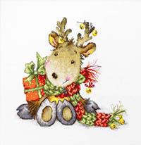Fawn - Sitting Reindeer Kit