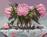Vase of Peonies Kit