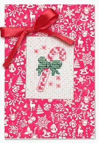 Candy Cane Card Kit