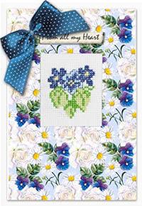 Violets Card Kit
