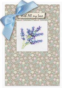 Lilac Card Kit