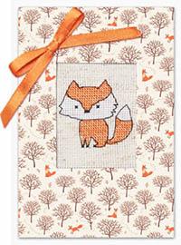 Fox & Trees Card Kit