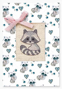 Raccoon Card Kit