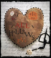 All Hallows Eve Heart