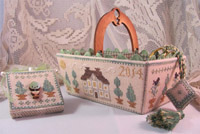 Green Days Sewing Basket