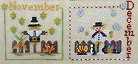 A Year with the Scarecrows - November & December