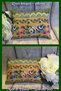 Rose Bouquet Pillows
