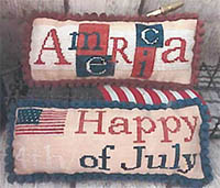 America & 4th of July Pillows