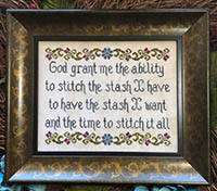Time to Stitch - A Serenity-ish Prayer