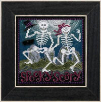 2017 Autumn Button & Bead - Spooky Scary