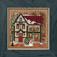 2018 Christmas Village Button & Bead - Cobbler Shop