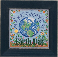 2020 Spring Button & Bead - Earth Day