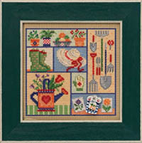 2021 Spring Button & Bead - Garden Sampler