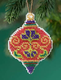 2019 Beaded Holiday - Crimson Cloisonne Kit