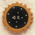 43005 Sunflower Debbie Mumm Button