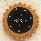 43005 Sunflower Debbie Mumm Button