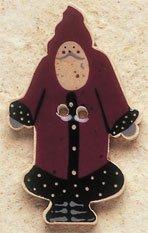 43009 Potted Geraniums Debbie Mumm Button