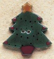 43017 Christmas Tree X-mas Visions Debbie Mumm Button